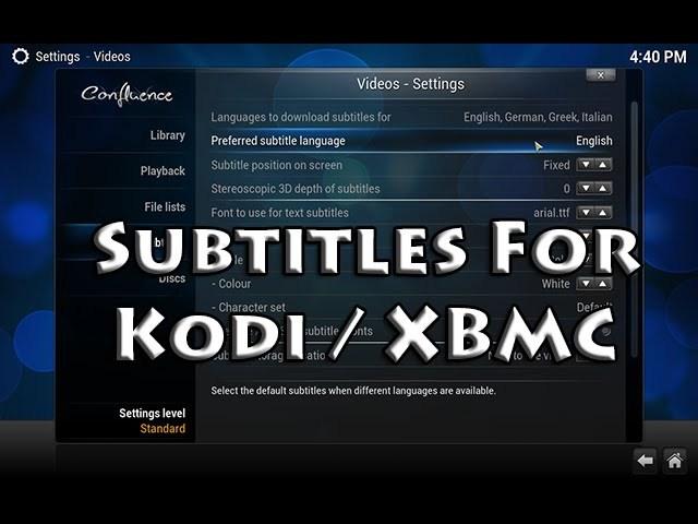 Best Subtitles for Kodi: Top 10 Addons For Kodi Player 17 X