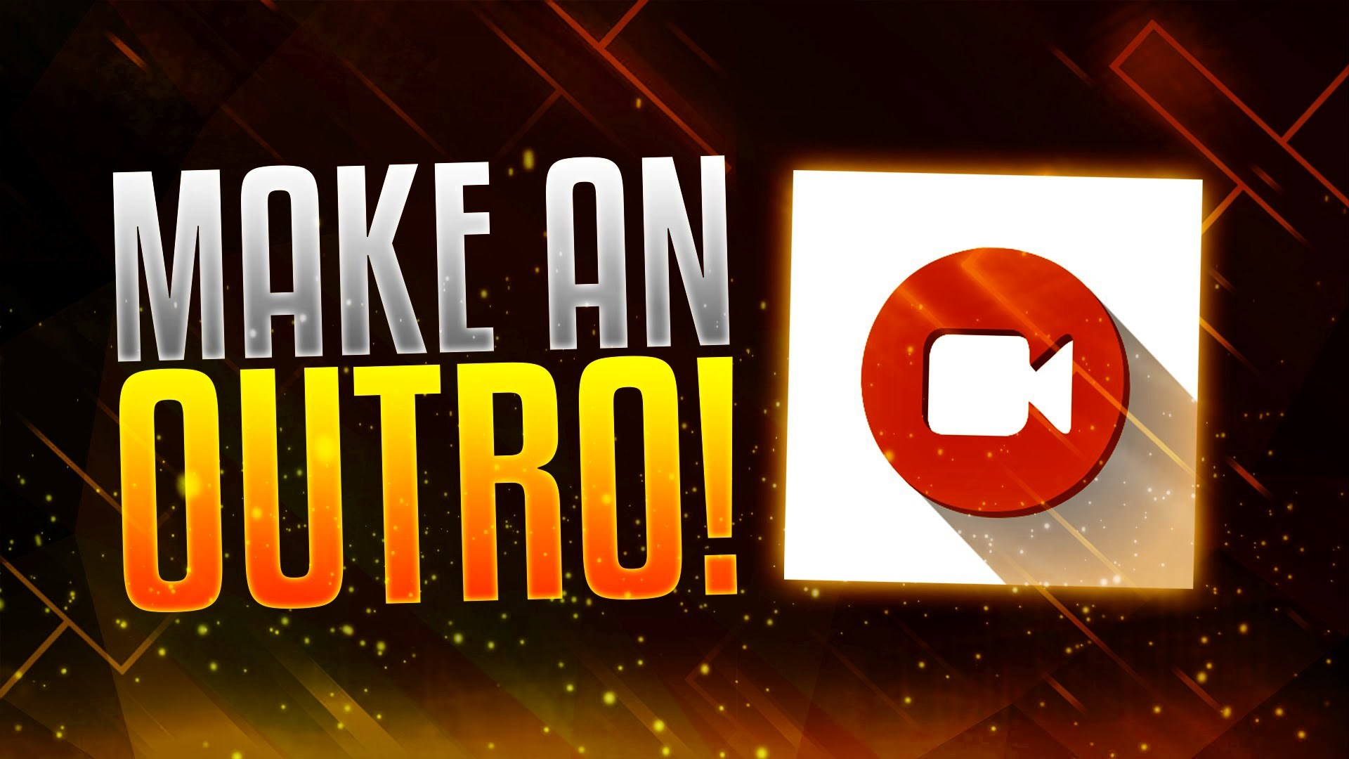 how to make intro and outro for your videos