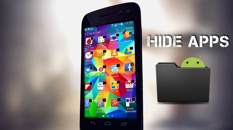 Hide Apps on Android Device