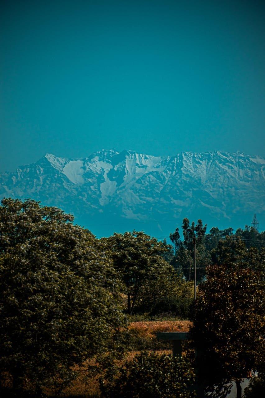 Himalayas Visible From India During Corona Lockdown