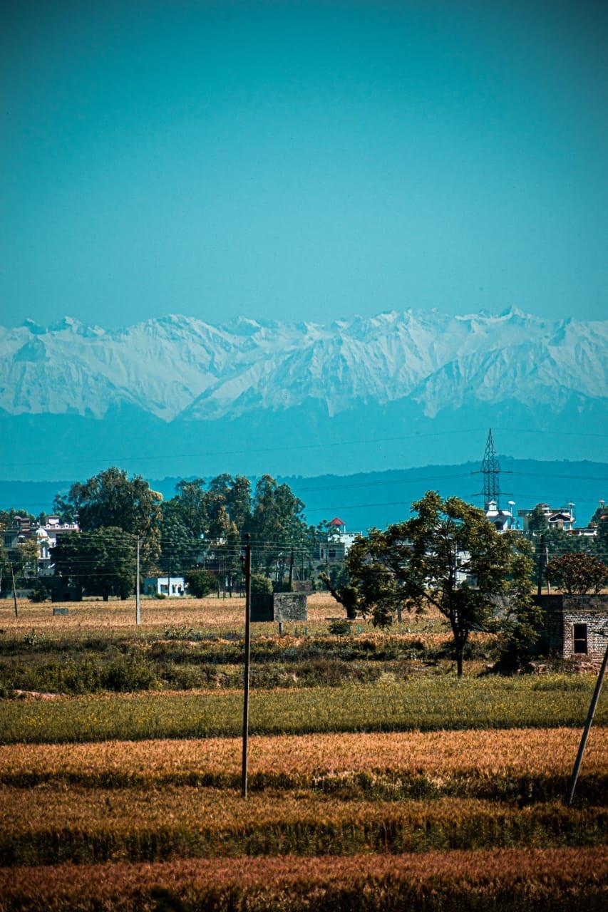 Himalayas Visible From India During Lockdown