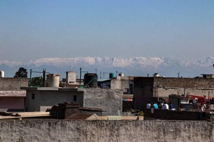 Himalayas Visible From India