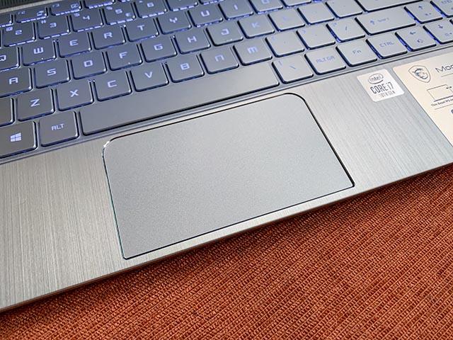 MSI Modern 14 A10RB keybord