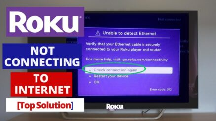 roku not connecting to the wifi