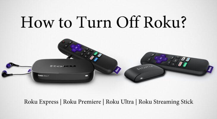 how to turn off roku