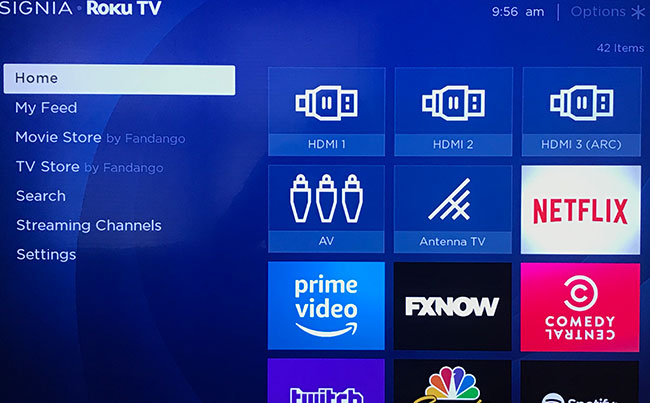 how to delete channels on roku