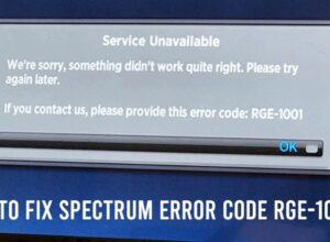 spectrum code rge-1001