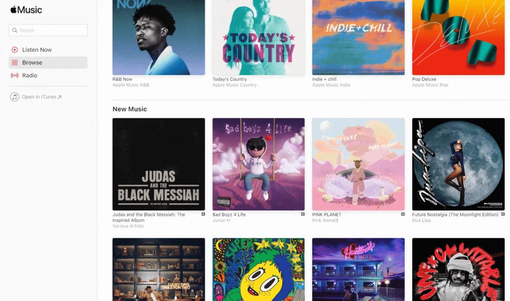 apple music site